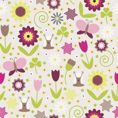 1679 - Summer seamless background