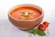 tomato soup, gazpacho