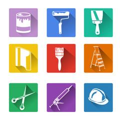 flat icon, home repair