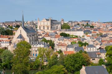 Poitiers in summer
