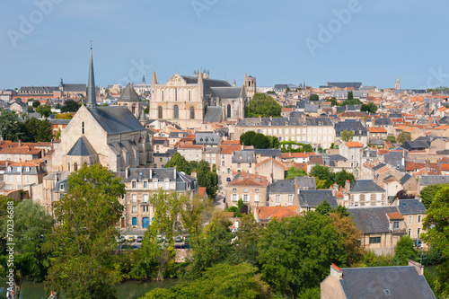 Papiers peints Europe Centrale Poitiers in summer
