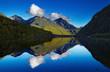 canvas print picture - Lake Gunn, New Zealand