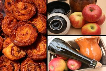 Cidre - Kouignettes aux pommes - Breizh