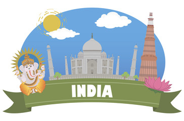 India. Tourism and travel