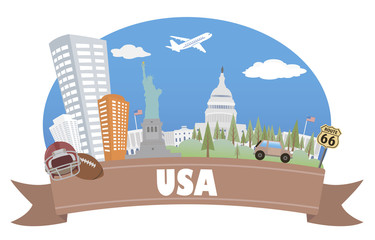 USA. Tourism and travel