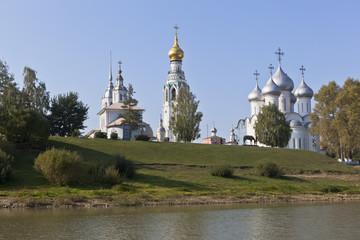 Соборная горка в Вологде, Россия