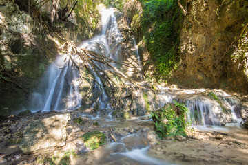Cascate del Menotre nel Parco dell'Altolina