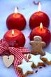 vierter Advent - Adventskerzen
