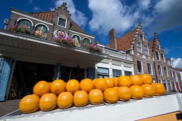 edam città famosa per il suo  formaggio olanda