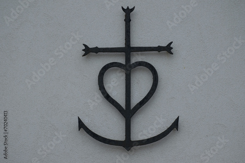 Croce della Camargue Poster
