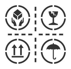 Fragile symbols, vector