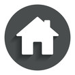 Home sign icon. Main page button. Navigation - 70241613