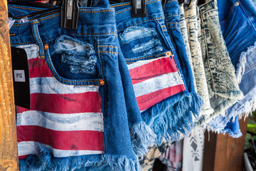 Jeans shorts on sale