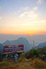 Viewpoint of  Doi Luang Chiang Dao