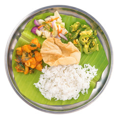 Indian vegetarian mixed rice