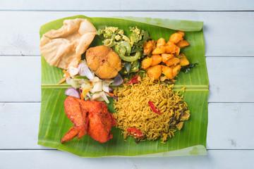Indian biryani mixed rice