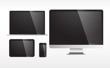 Electronic Devices with Blank Screen
