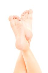 Beautiful well-groomed female foot