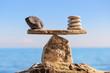 Leinwandbild Motiv Symbol of scales
