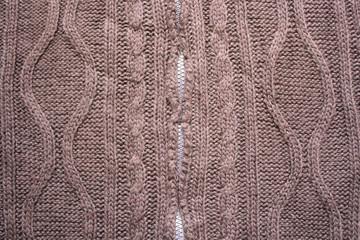 Wool pattern detail
