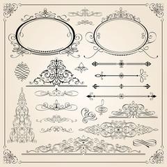 Excellent calligraphic frames