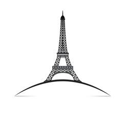 Courbe - Tour Eiffel