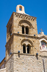 Mother Church of Rocca Imperiale. Calabria. Italy.