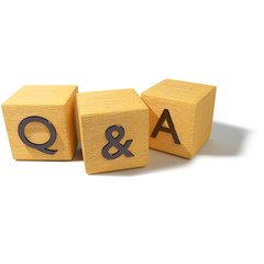 Würfel mit Fragen und Antworten