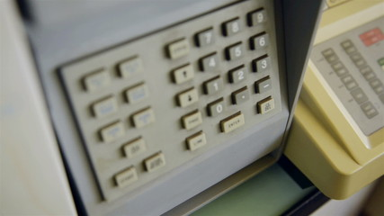 Dialing sequence into a security panel