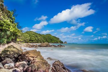 Aowyang.most beautiful beach in Chanthaburi Thailand.