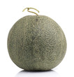 Japanese Melon on White background