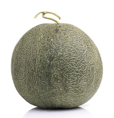 Japanese Melon on White background