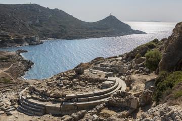 Temple of Aphrodite in Knidos, Datca, Mugla, Turkey