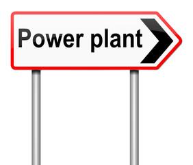 Power plant concept.