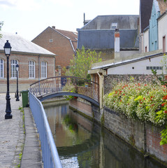Amiens Kanal Viertel