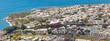 panorama de la ville de Saint-Denis, île de la Réunion