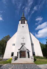 Provincial Catholic church in the north of Scandinavia.