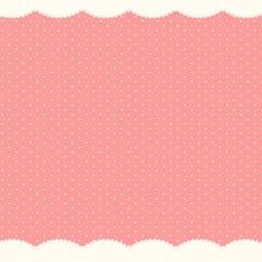 Abstract Polka Dot Background, Vector Illustration