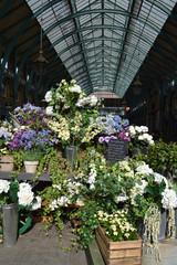 Covent Garden flower stall