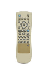 remote on the white background