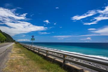 台湾 台東の国道