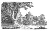 Village illustration - 70259600