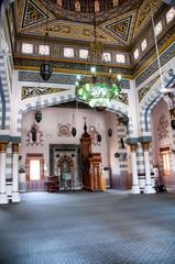Interior of Ornate Mosque in Hurghada