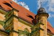 canvas print picture - Kirche mit Turm und Schiff