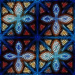 Geometric mosaic.