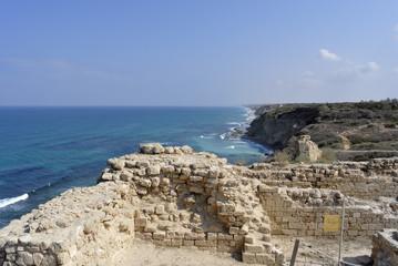 Apollonia fortress near Tel Aviv.