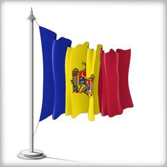 Flag of Moldavia