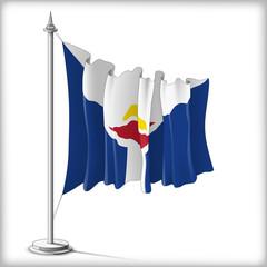 Flag of Saint Martin
