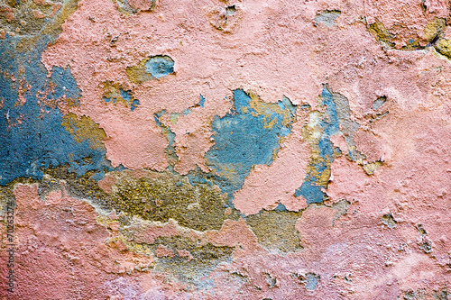 canvas print picture grungy wall