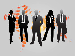 Vector Business People Graphics